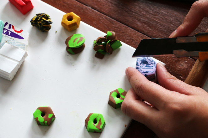 Aacute Polymer Clay Jewellery Making