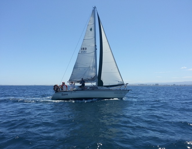 Adelaide Sailing School, Winter sailing Adelaide, learn to sail Adelaide, learn to sail winter