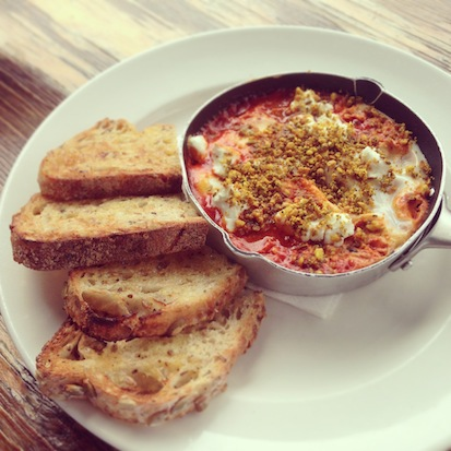 Axil Coffee Roasters, Cafe, Baked Eggs