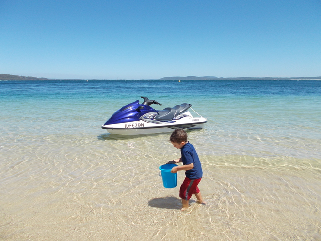beach, shoal bay, little beach, nelson bay, port stephens, crystal clear water