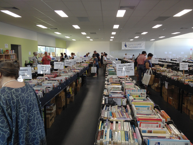 Book Bazaar helps the Spine and Limb foundation
