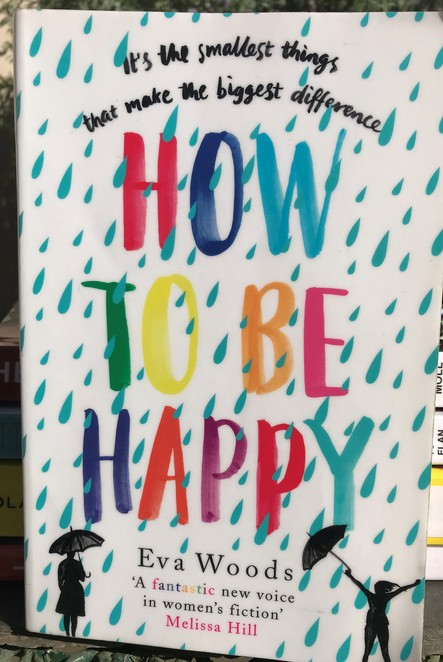 books, reading, bookworm, recommended reads, eva woods, how to be happy, spring