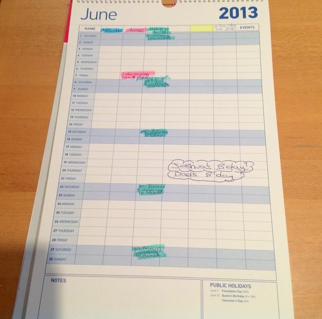 Calendar, plan, months, days, activities, time management, chart