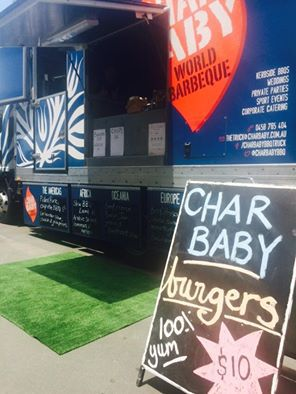 char baby, food truck, catering, barbeque, fine food, corporate, private party
