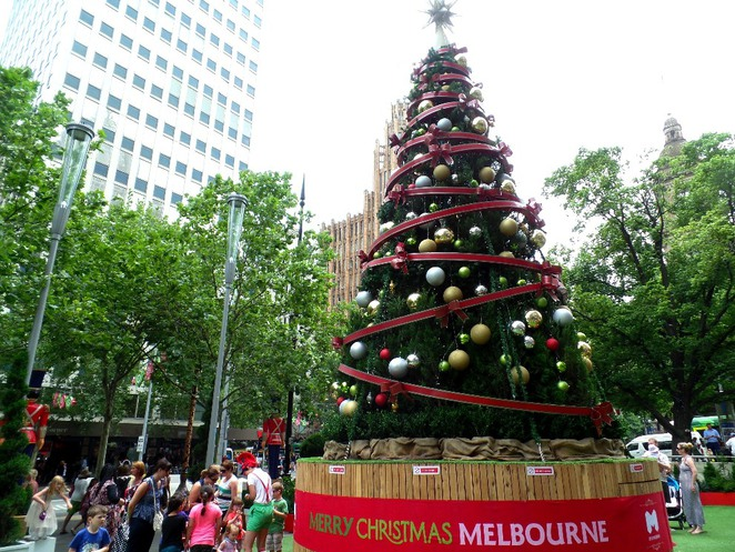 christmas square melbourne