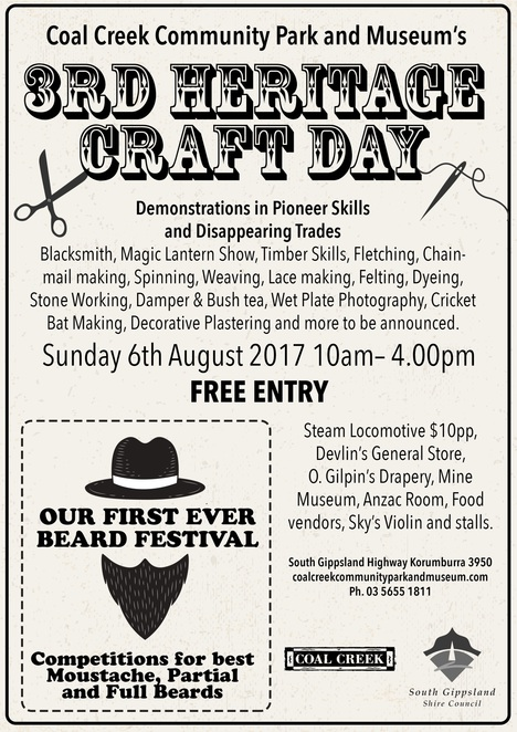 Coal Creek Heritage Craft Day