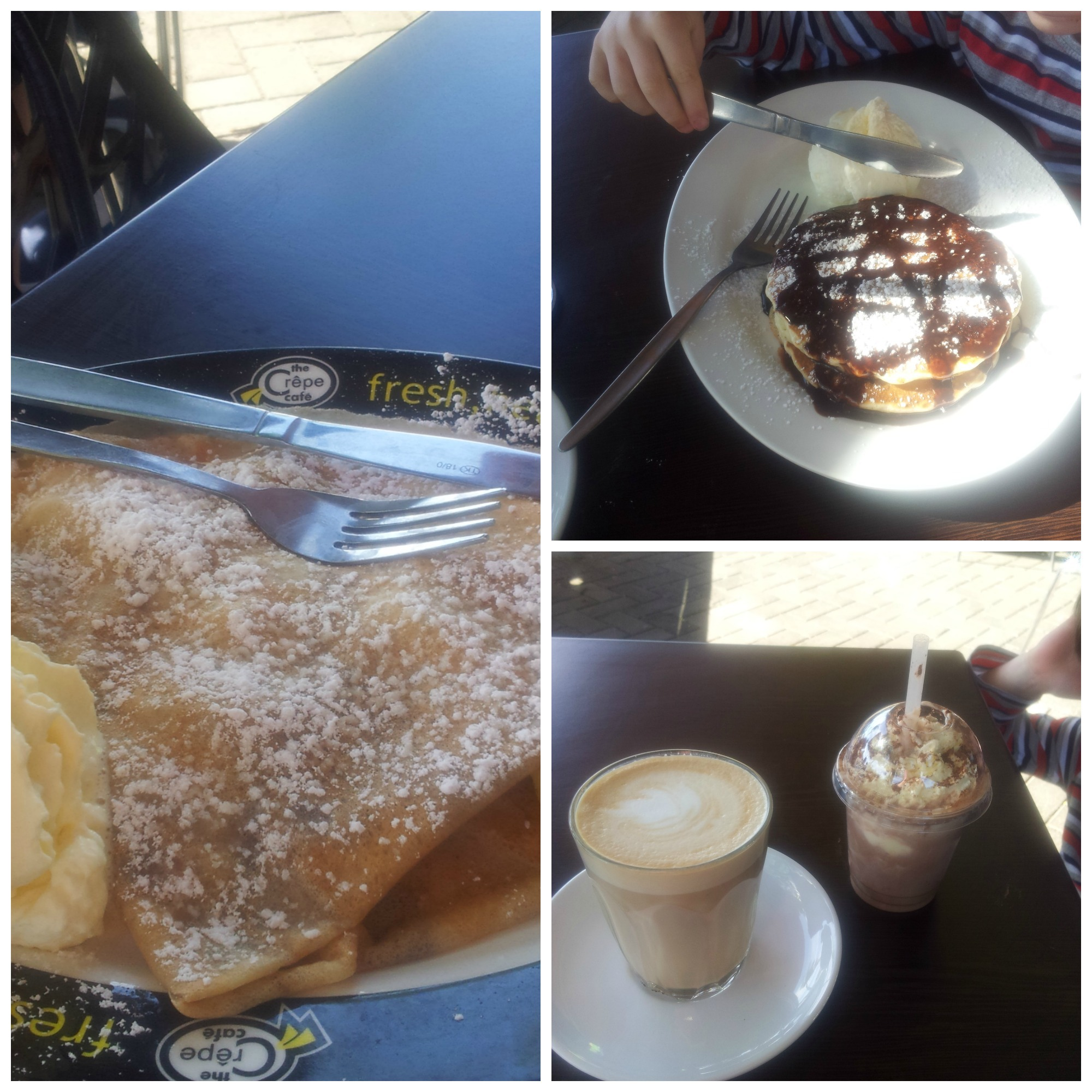 Crepe Cafe Menu Brisbane