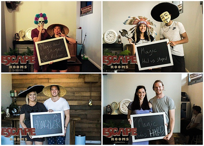 escape rooms, canberra, date nights, couples, nightlife, romantic, dates,