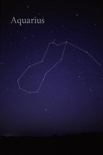 Image of the constellation Aquarius courtesy of Till Credner