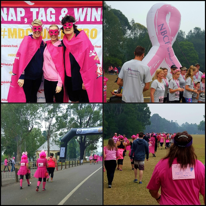 Exercise, nature, charity, fundraising, pink, breast cancer