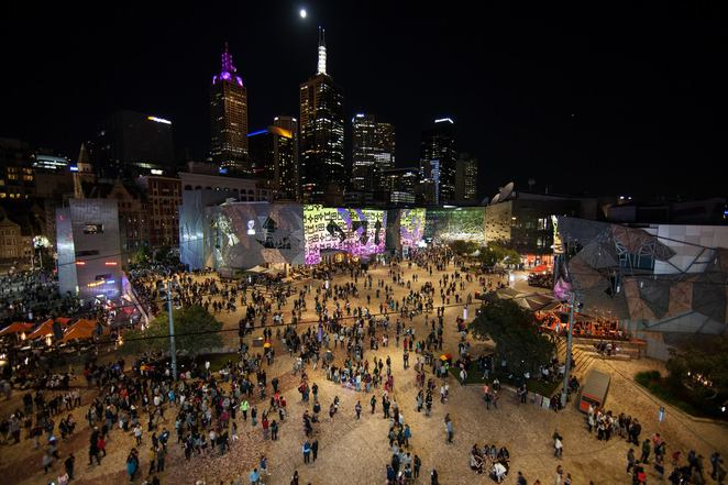 fed square live 2018, community event, fun things to do, music, musical acts, big band, rock n roll, roger knox, maddy leman & the desert swells, fraser a gorman, bumpy, kee'ahn, riverboy, the merindas, victorian music development office, hobsons bay coast guard, amaya laucirici, dream can, claudia jones, rudely interrupted, ben hazelwood, lake minetonka, drmngnow, city of melbourne, the killjos, leah flanagan, stonefield, civic, mod con, the living eyes, juliette seizure & the tremor dolls, baby blue, loose tooth, entertainment, free event