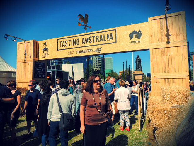 food festival, tasting australia, mothers day, free things to do, fun things to do, victoria square, food and wine, market, markets, town square
