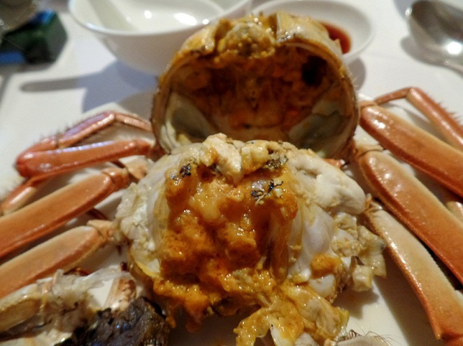 hairy crab roe