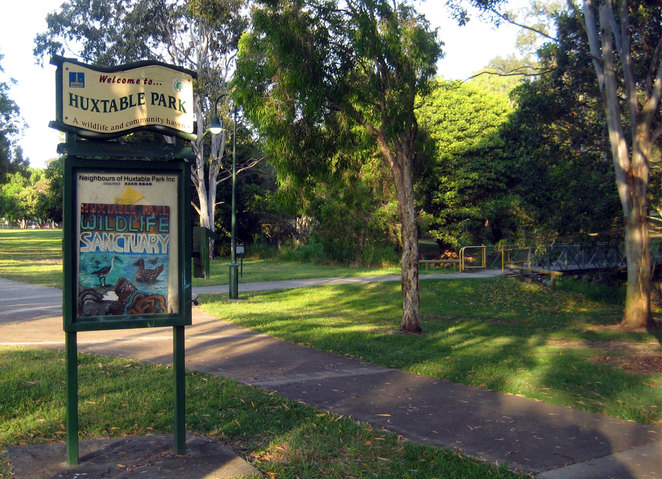 Huxtable Park in Chermside West
