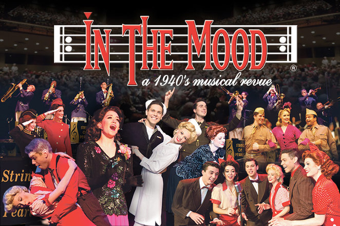 In the mood, performance, SA, Adelaide, musical, broadway, USA, 1940'S, Swing, jazz, jazz music, production, theatre, Her Majesty's Theatre, CBD, October events
