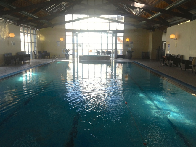 Indoor heated pool, Fairmont Hotel, Leura, Blue Mountains, NSW