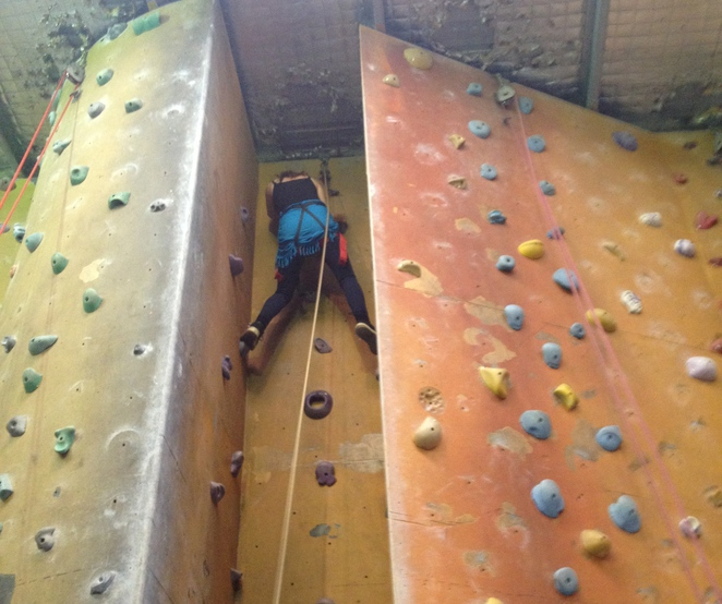 Indoor rock climbing, The Climbing Centre Penrith