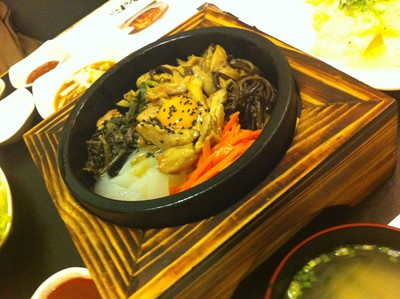 Koba Korean BBQ restaurant, best korean restaurant adelaide, best BBQ restaurant adelaide, traditional bibimbap stone bowl rice