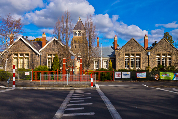 kyneton, bluestone, building, primary school, original, historic, heritage,