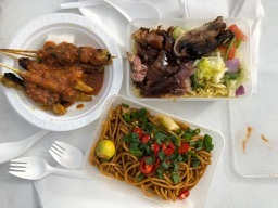 Food from Cili Padi Catering