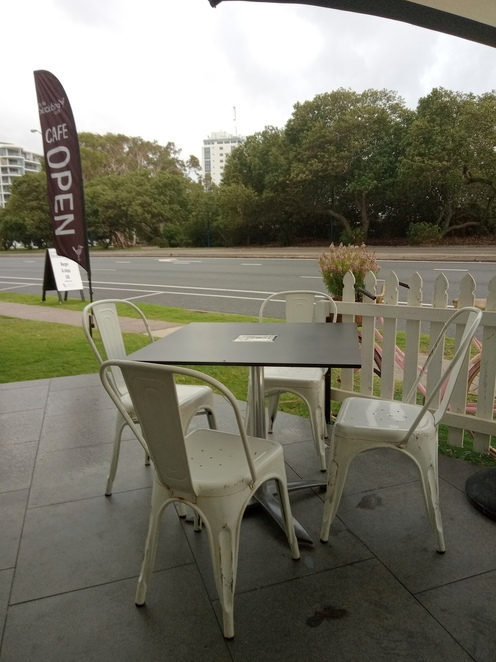 little blackbird cafe tables and chairs maroochydore alex