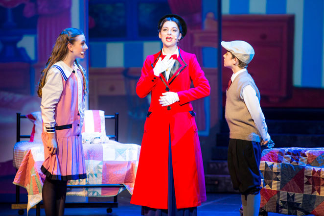 Mary, poppins, Sheldon, college, Australian, school, arts, Redland, musical