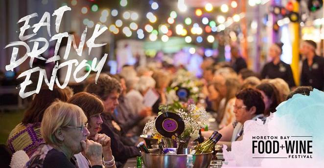 Moreton Bay Food & Wine Festival, ticketed events, seafood extravaganzas, Tempest Seafood Restaurant and Teppanyaki, GKS Fireworks Spectacular, Smash It Burger Challenge, Bee Gees Way Dinner, Cookie Decorating Workshop, Flock Spring Feast, SOLD OUT
