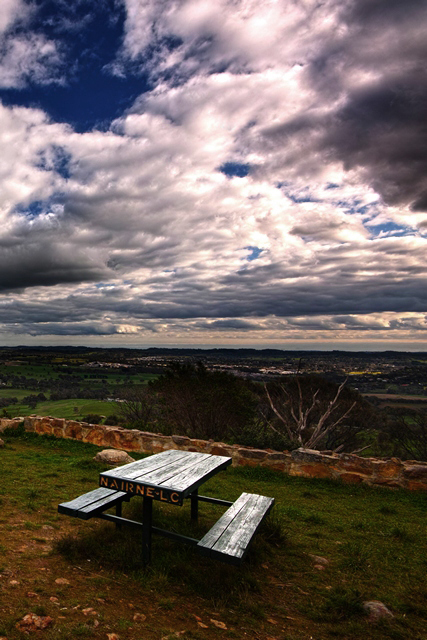 Picnic Grounds at Mt Barker Summit