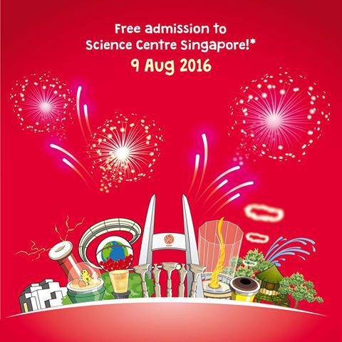 NDP, SG51, Singapore Science Centre, NDP2016, Singapore museum, Science centre, Singapore attraction, National day 2016 promotion