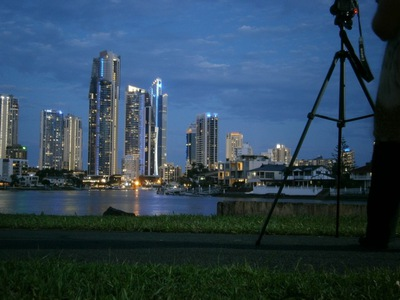 night photography walk, photography walk gold coast, free photography lessons gold coast