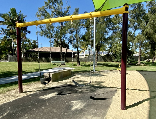 Orana Street Park was designed with children of multiple ages in mind
