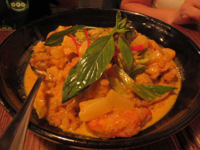 Oriental House, Crunchy Soft Shell Crab Curry, Adelaide