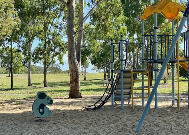 Wild koalas can be seen around this appropriately themed playground
