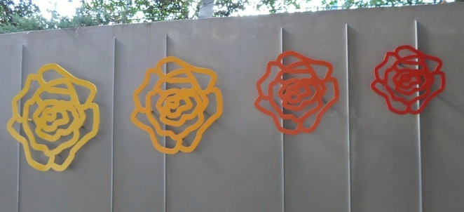 Peter D. Cole, Roses, Chastwood, Transport Interchange, public art