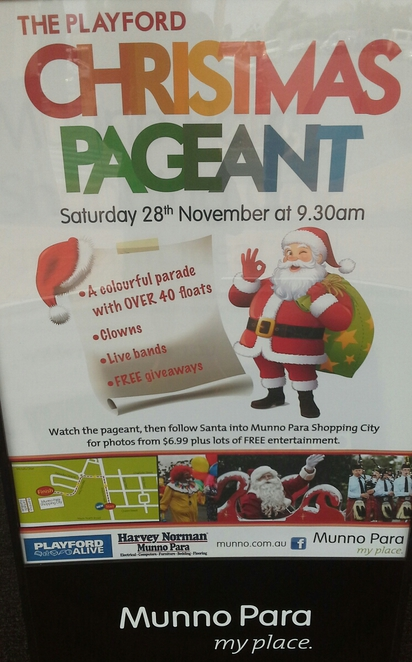 Playford Christmas Pageant