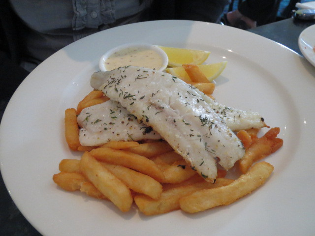 Reepham Hotel, Grilled Fish & Chips, Adelaide