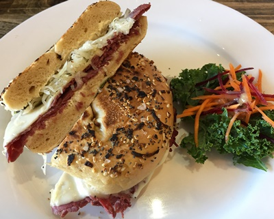 Reuben,bagel,at,Cafe,Anatomy