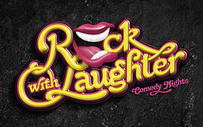 Rock with Laughter comic comedy Rock Lily