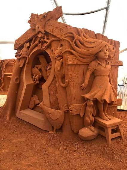 Sand Art Gallery, Enchanted Forest