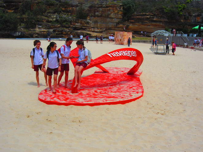 Sculpture by the Sea 2016 Haviana Thong