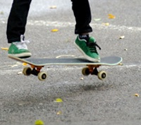 Skateboarding clinics, competitions, Easter school holidays