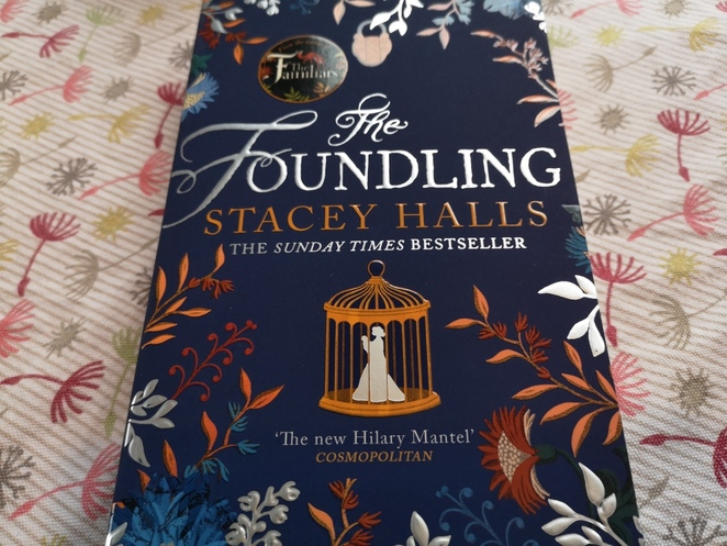 The Foundling, Stacey halls, books