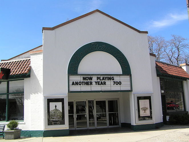 The historic Pelham Picture House in Pelham, NY