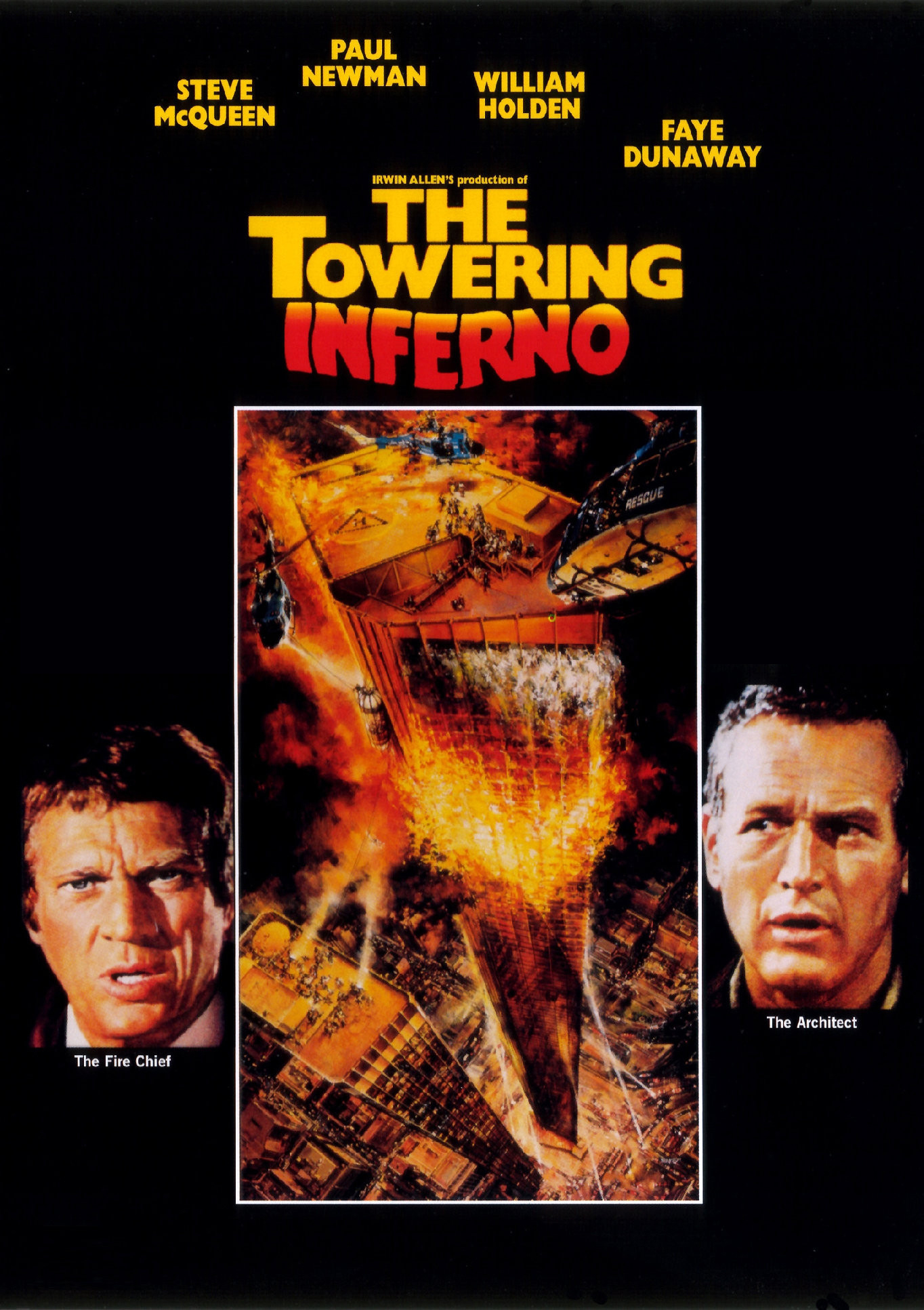 Image result for THE TOWERING INFERNO