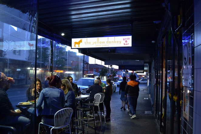 The Yellow Donkey, Bar, Grill, Bentleigh, Moorabbin, Mckinnon