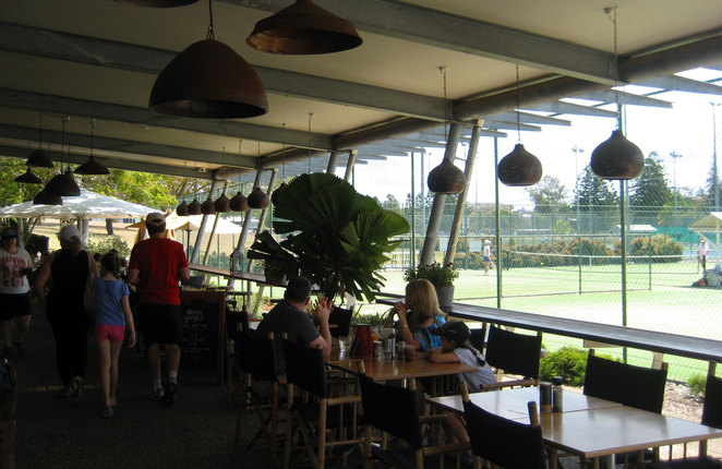 St Lucy's Cafe at the UQ Tennis Courts