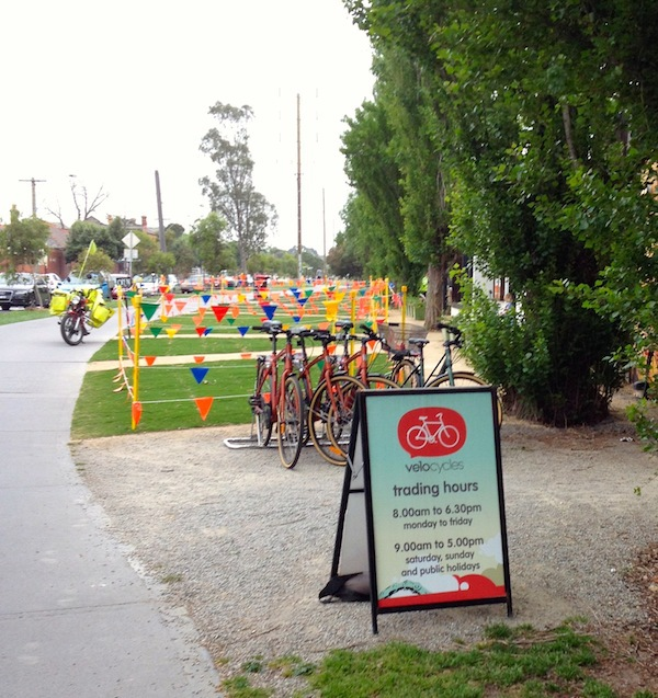 Velocycles is located on the Capital City Trail