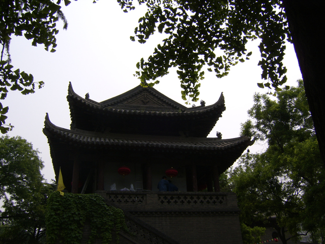 Xian pagoda held holy books