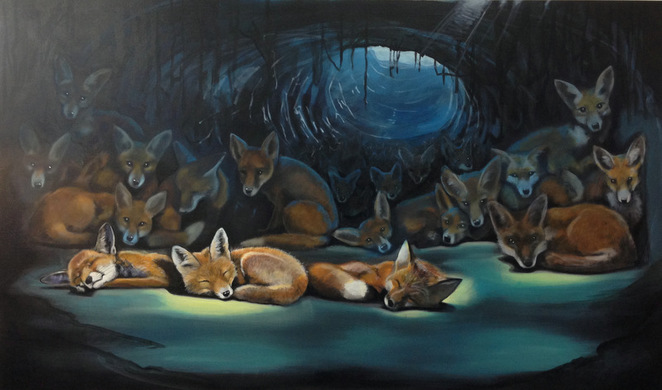 Foxes, Ross Morgan