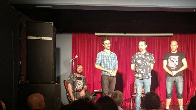 adelaide, fringe, festival, comedy, men with coconuts, improv, rhino room, february, march, 2020